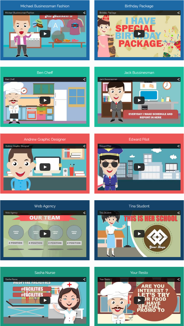 CREAVIDEO Features