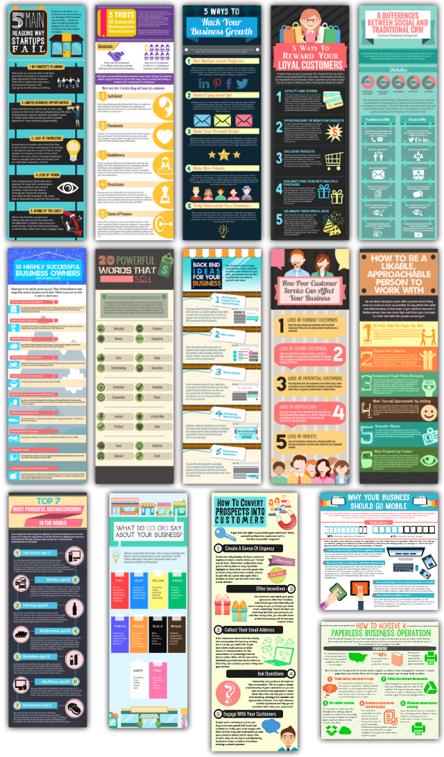 Infographics Business Edition Features