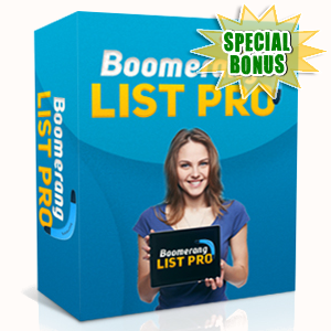 Special Bonuses - June 2015 - Boomerang List Pro Software