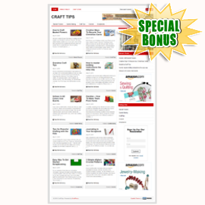 Special Bonuses - June 2015 - Craft Tips Niche Blog