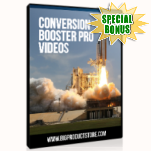 Special Bonuses - June 2015 - Conversion Booster Pro Video