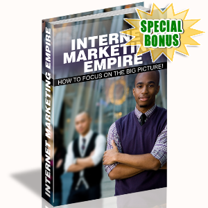 Special Bonuses - June 2015 - Internet Marketing Empire