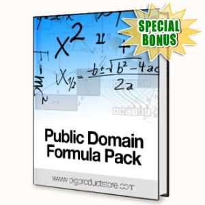 Special Bonuses - June 2015 - Public Domain Profits Formula Pack