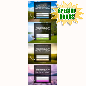 Special Bonuses - June 2015 - Mobile Squeeze Page Package