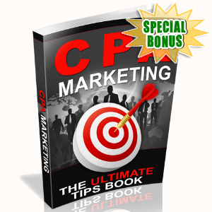 Special Bonuses - June 2015 - CPA Marketing