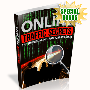 Special Bonuses - June 2015 - Online Traffic Secrets