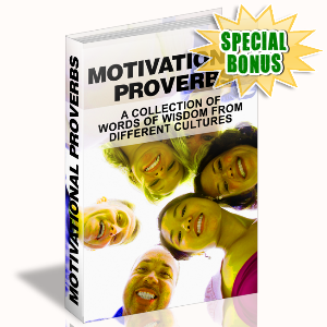 Special Bonuses - June 2015 - Motivational Proverbs