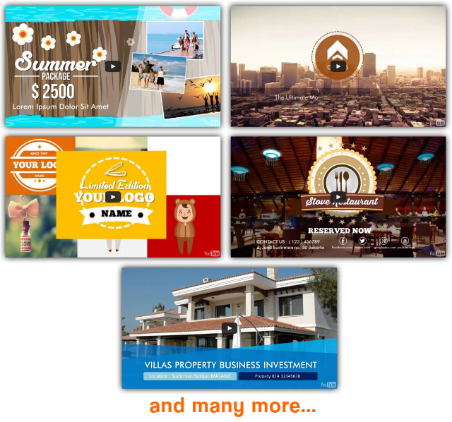 GeekVid Instant Video Templates Features