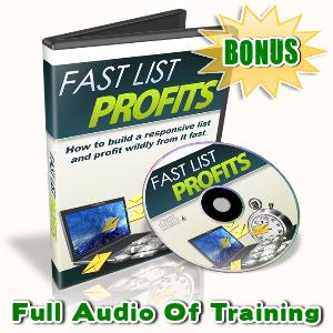 Fast List Profits Bonuses