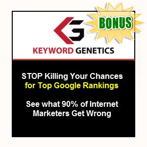 Niche Genetics Bonuses  - Keyword Genetics (Developer) (for OTO buyers)