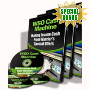 Special Bonuses - July 2015 - WSO Cash Machine Pack