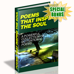 Special Bonuses - July 2015 - Poems That Inspire The Soul
