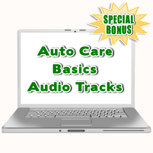 Special Bonuses - July 2015 - Auto Care Basics Audio Tracks