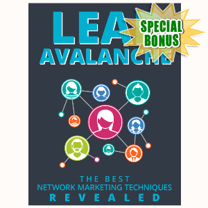 Special Bonuses - July 2015 - Lead Avalanche