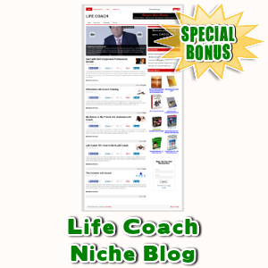 Special Bonuses - July 2015 - Life Coach Niche Blog