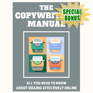 Special Bonuses - July 2015 - The Copywriter's Manual