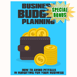 Special Bonuses - July 2015 - Business Budget Planning