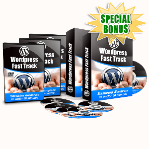 Special Bonuses - July 2015 - WordPress Fast Track Video Series