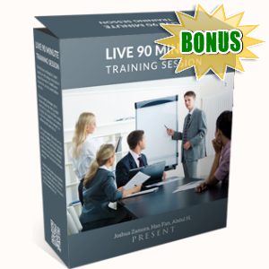 VideoRankr Bonuses  - LIVE 90 Minute Training Session and QnA