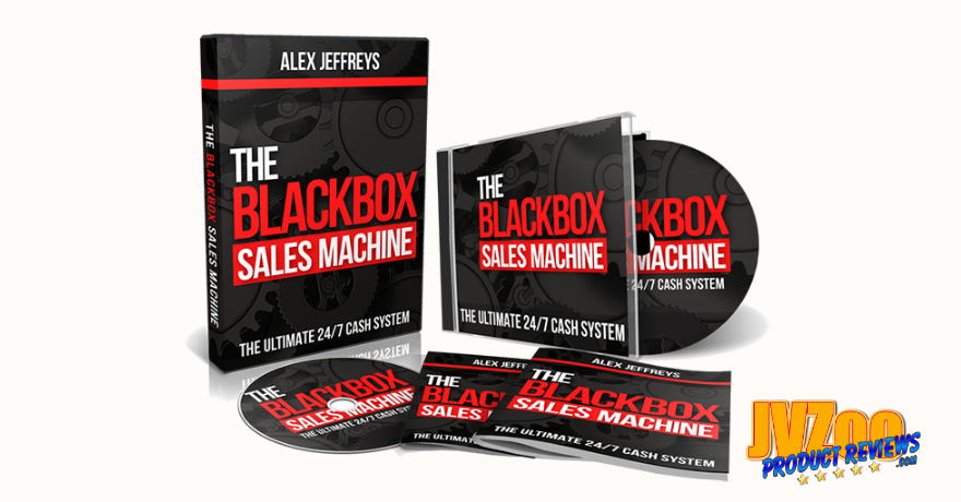 The Blackbox Sales Machine Review and Bonuses - Cover