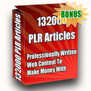 Article Partner Bonuses  - 13200 PLR Articles