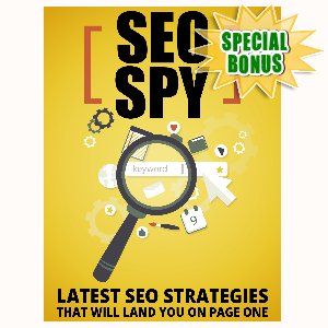 Special Bonuses - August 2015 - SEO Spy