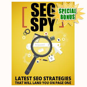 Special Bonuses - August 2015 - SEO Spy