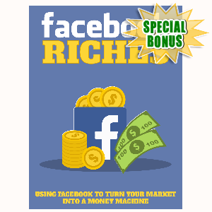 Special Bonuses - August 2015 - Facebook Riches