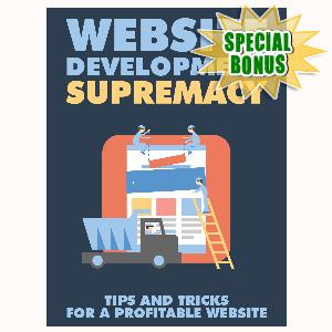 Special Bonuses - August 2015 - Website Development Supremacy