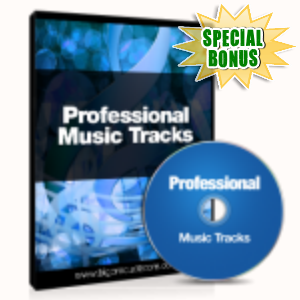 Special Bonuses - August 2015 - Professional Music Track Pack