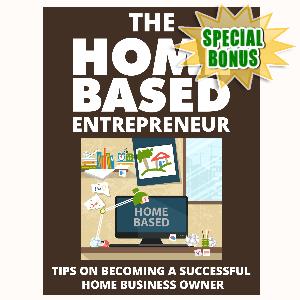 Special Bonuses - August 2015 - The Home Based Entrepreneur