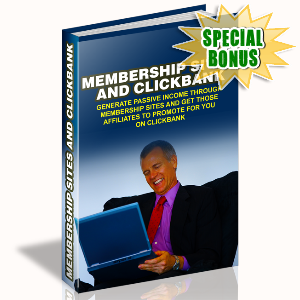Special Bonuses - August 2015 - Membership Sites And Clickbank