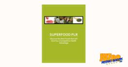Super Foods PLR Review and Bonuses