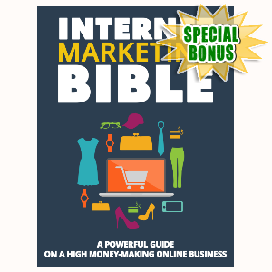 Special Bonuses - September 2015 - Internet Marketing Bible