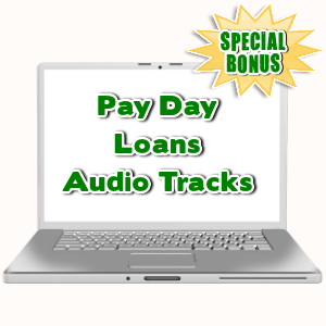 Special Bonuses - September 2015 - Pay Day Loans Audio Tracks