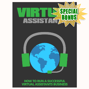 Special Bonuses - September 2015 - Virtual Assistants