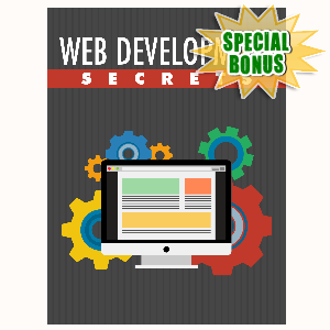Special Bonuses - October 2015 - Web Development Secrets