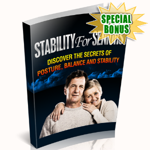 Special Bonuses - October 2015 - Stability For Seniors