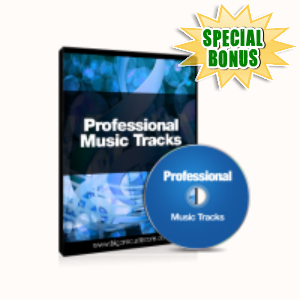 Special Bonuses - October 2015 - Professional Music Audio Tracks Pack