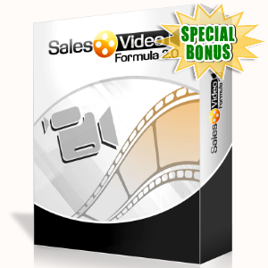 Special Bonuses - October 2015 - Sales Video Formula 2.0 Video Series Pack