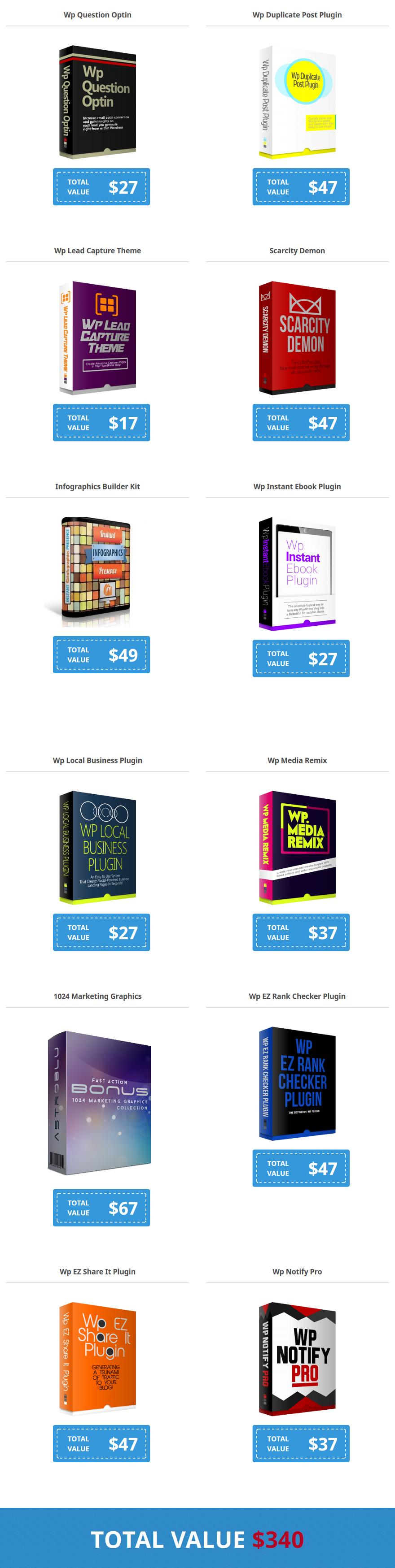 Mega Builder WordPress Theme Bonuses