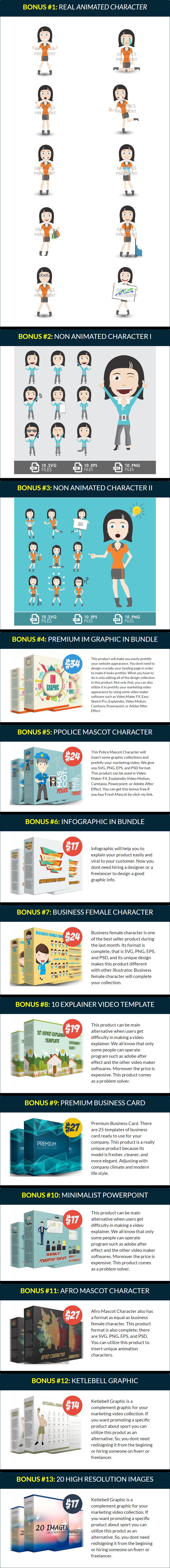 Fresh Animate Bonuses