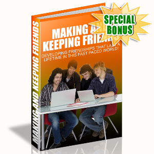 Special Bonuses - November 2015 - Making And Keeping Friends