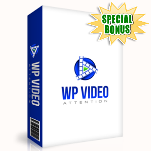 Special Bonuses - November 2015 - WP Video Attention Plugin