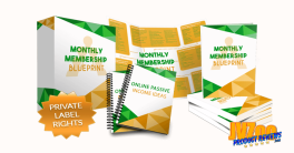 Monthly Membership Blueprint Review and Bonuses