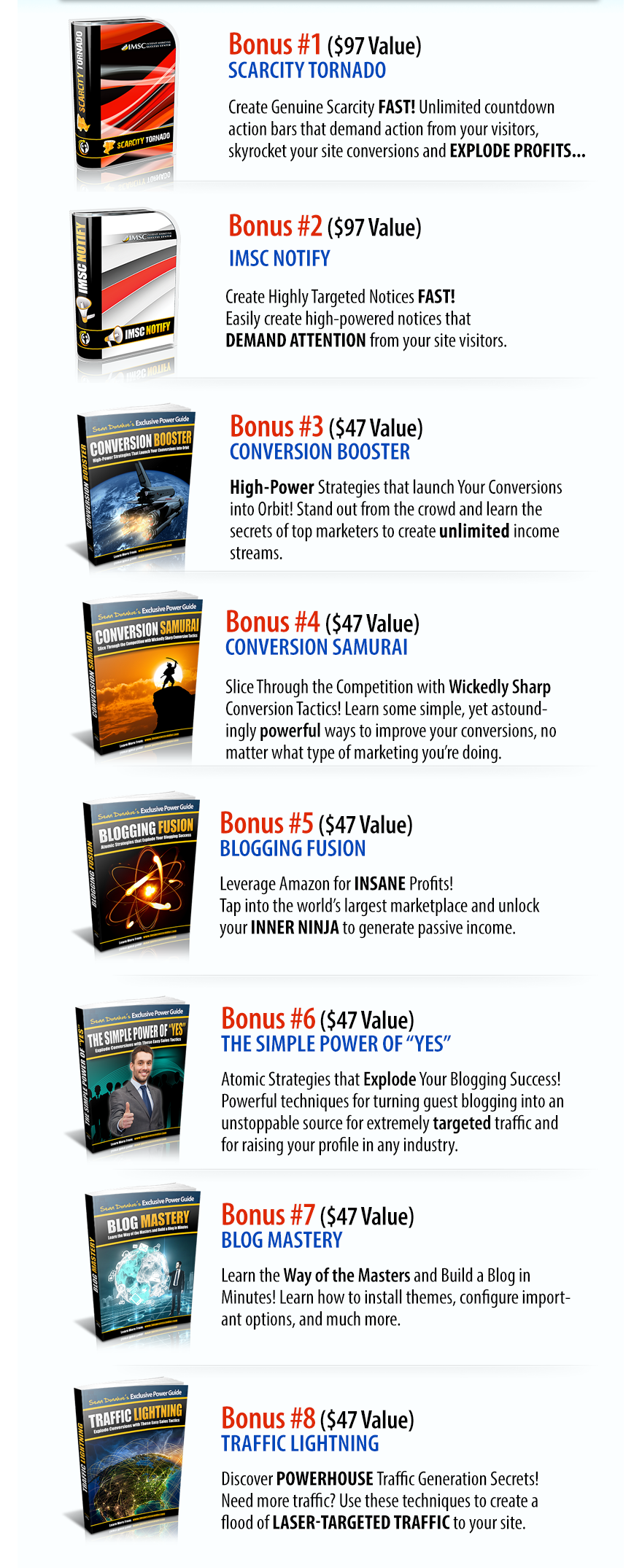 WP Blog Rocket Bonuses