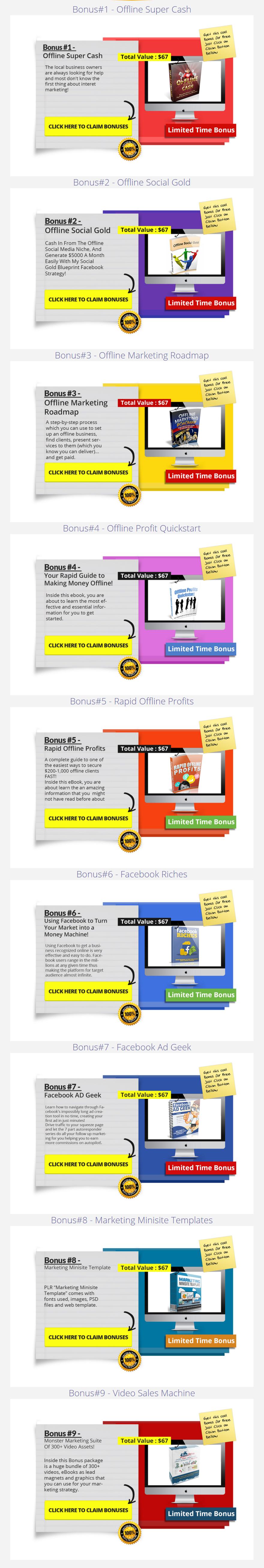 Easy Web Video Holiday Special Bonuses