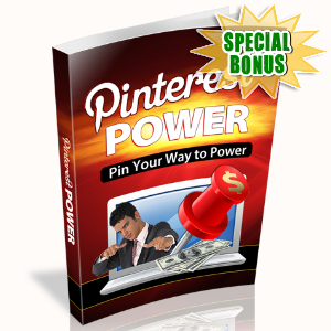Special Bonuses - January 2016 - Pin Your Way To Power