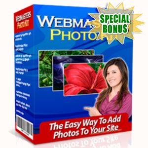 Special Bonuses - January 2016 - Webmaster's Photo Kit Software