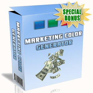 Special Bonuses - February 2016 - Marketing Color Generator Software